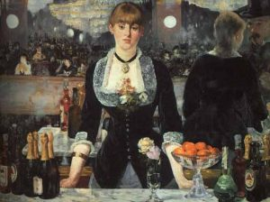 Manet, A Bar at the Folies-Bergère