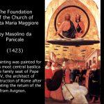 Masolino, A Neglected Genius of Renaissance Perspective [Slide Presentation], 12