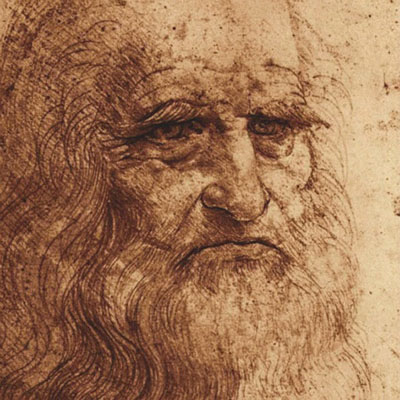 Leonardo da Vinci Self-Portraiture, image