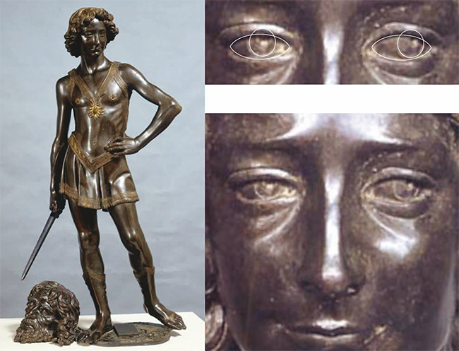 Figure 1. David by Andrea del Verrocchio, image